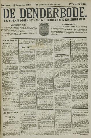 De Denderbode 1890-12-18