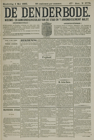 De Denderbode 1893-05-04