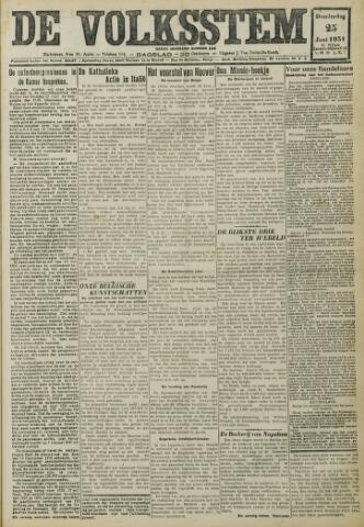 De Volksstem 1931-06-25