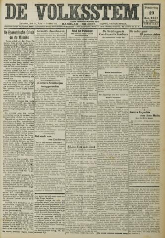 De Volksstem 1931-11-19