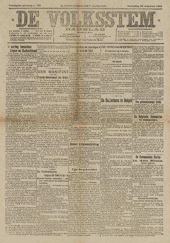 De Volksstem 1914-08-26