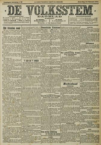 De Volksstem 1914-02-14