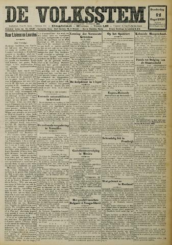 De Volksstem 1926-08-12