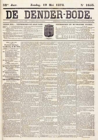 De Denderbode 1878-05-19