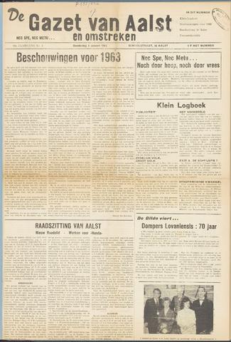 De Gazet van Aalst 1963