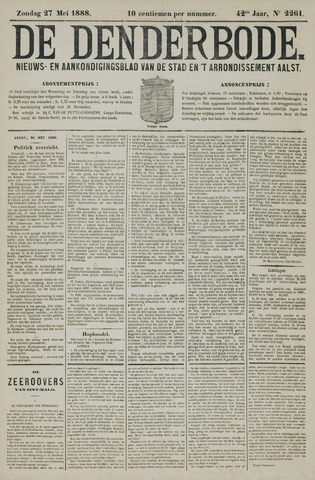De Denderbode 1888-05-27