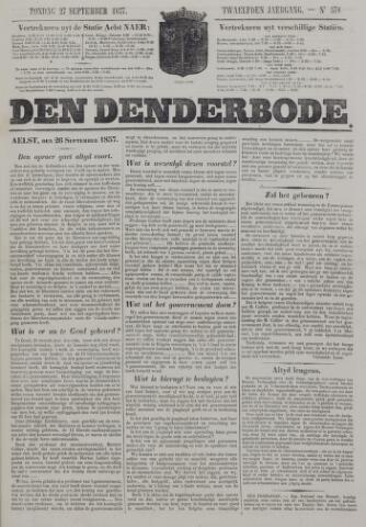 De Denderbode 1857-09-27