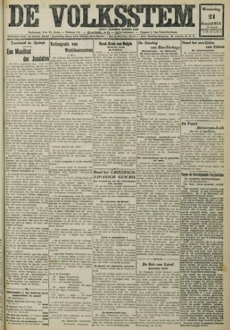 De Volksstem 1931-10-21