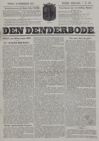De Denderbode 1857-09-13