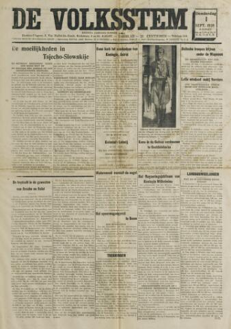 De Volksstem 1938-09-01