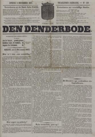 De Denderbode 1857-12-06