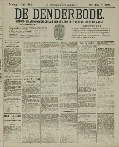 De Denderbode 1894-07-01