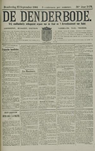 De Denderbode 1904-09-15
