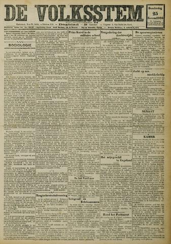 De Volksstem 1926-11-25