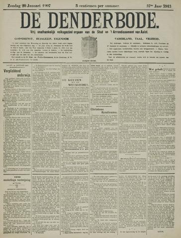 De Denderbode 1907-01-20