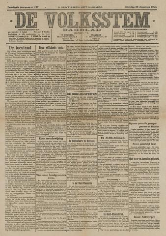 De Volksstem 1914-08-25