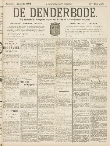 De Denderbode 1901-08-04