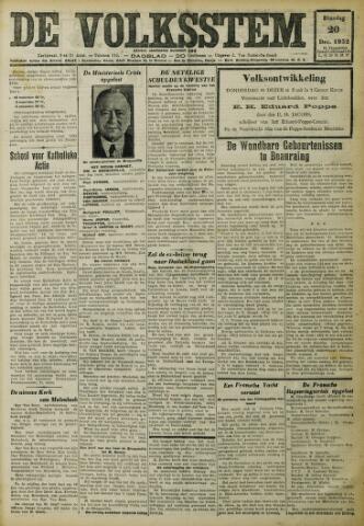 De Volksstem 1932-12-20