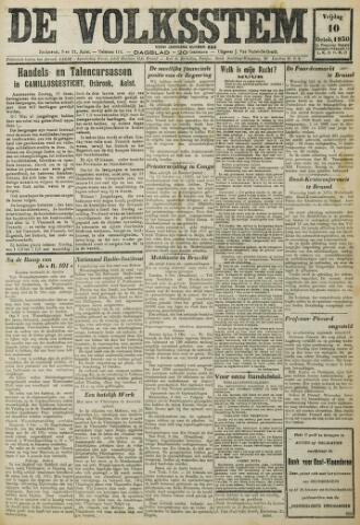De Volksstem 1930-10-10