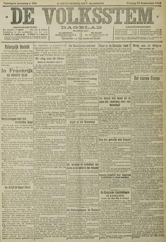 De Volksstem 1914-09-25