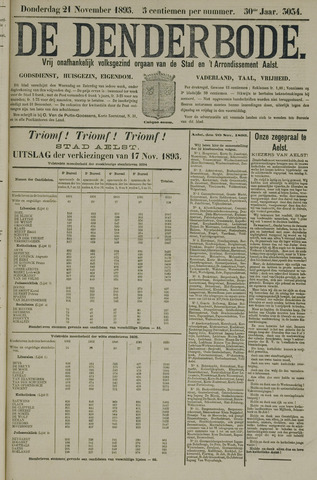 De Denderbode 1895-11-21
