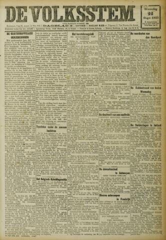 De Volksstem 1923-08-22