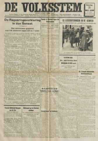 De Volksstem 1938-05-21