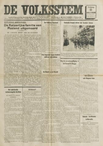 De Volksstem 1938-07-15