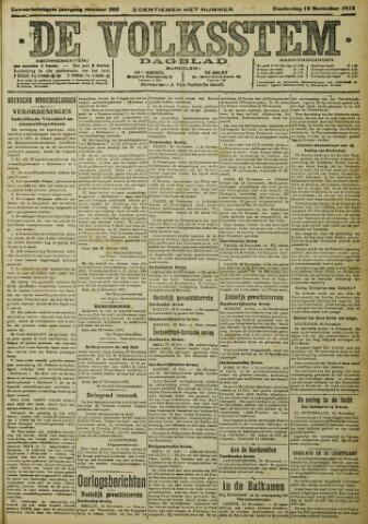 De Volksstem 1915-11-18
