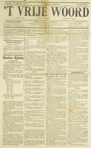 't Vrije Woord 1913
