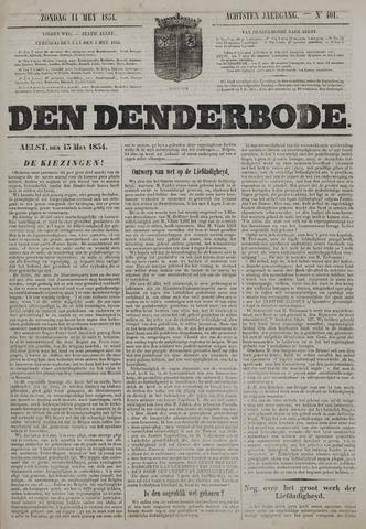 De Denderbode 1854-05-14