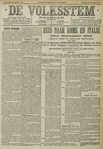 De Volksstem 1914-01-23
