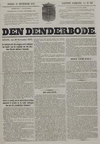 De Denderbode 1853-09-25