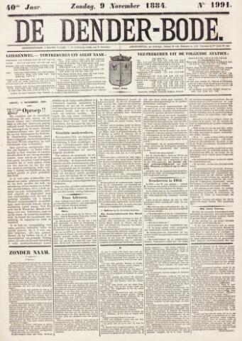 De Denderbode 1884-11-09