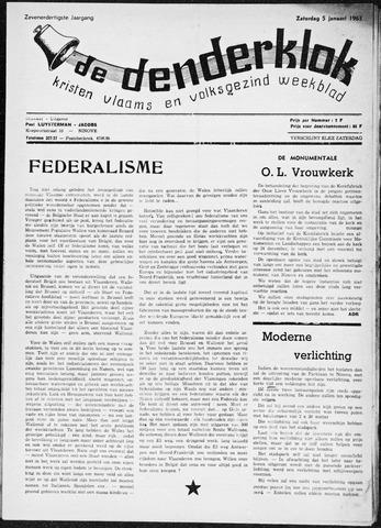 Denderklok 1963
