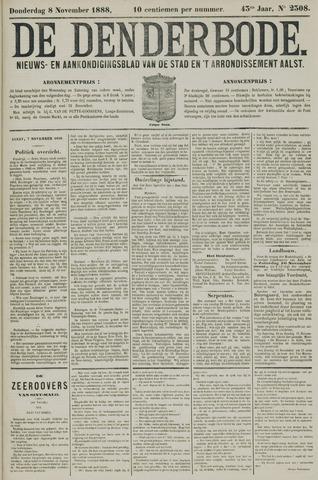 De Denderbode 1888-11-08