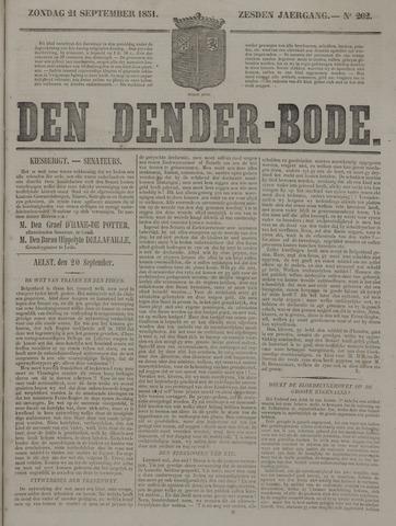De Denderbode 1851-09-21