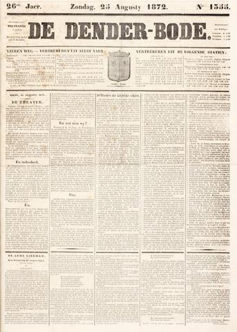 De Denderbode 1872-08-25