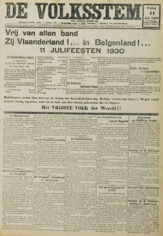 De Volksstem 1930-07-11