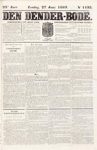De Denderbode 1869-06-27