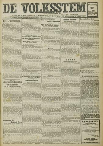 De Volksstem 1931-01-29