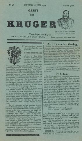 Kruger 1901-07-28