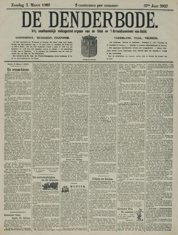De Denderbode 1907-03-03
