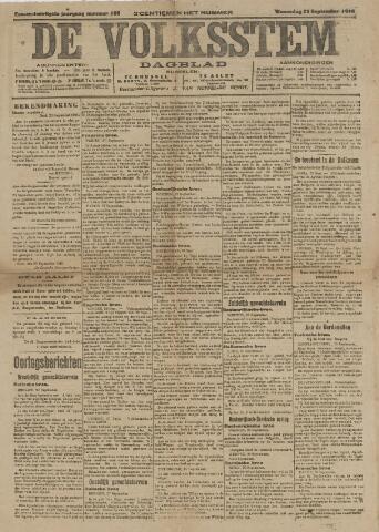 De Volksstem 1915-09-29
