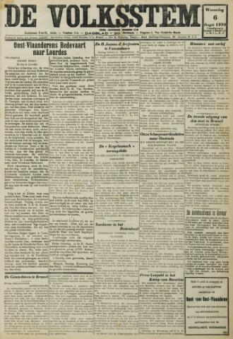 De Volksstem 1930-08-06