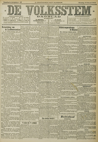 De Volksstem 1914-03-10