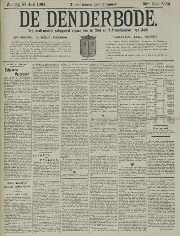 De Denderbode 1904-07-31