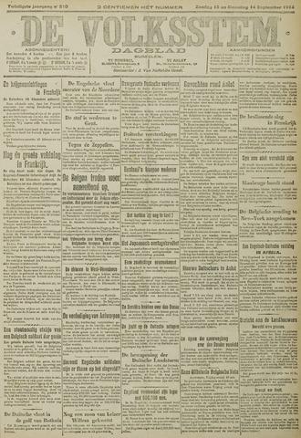 De Volksstem 1914-09-13
