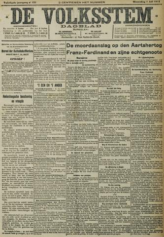 De Volksstem 1914-07-01