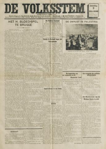 De Volksstem 1938-07-09